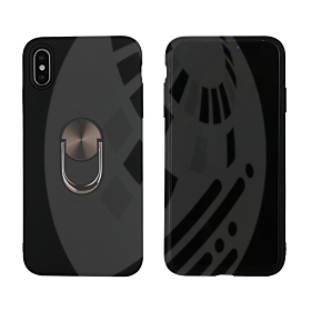 Hard Armour Shockproof Case with Ring Holder for iPhone