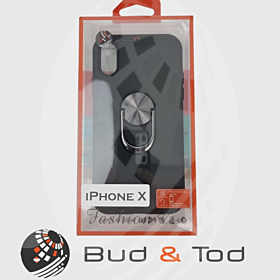 iPhone X Shockproof Hard Armour Case in Black