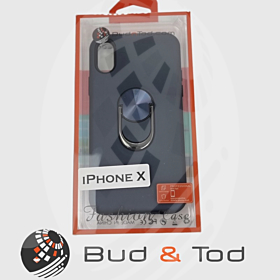 iPhone X Shockproof Hard Armour Case in Blue