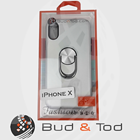 iPhone X Shockproof Hard Armour Case in Silver
