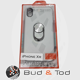 iPhone XR Shockproof Hard Armour Case in Silver