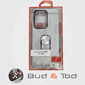 Samsung Galaxy S20 Ultra Shockproof Hard Armour Case in Silver