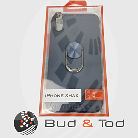 iPhone X Max Shockproof Hard Armour Case in Blue