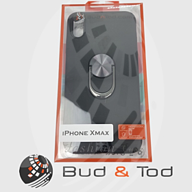 iPhone X Max Shockproof Hard Armour Case in Black